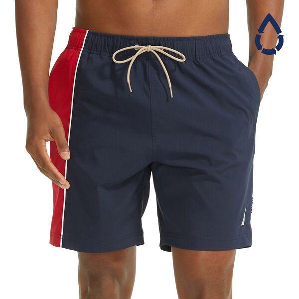 "Sustainably Crafted Dual Band 8"" Swim Shorts"
