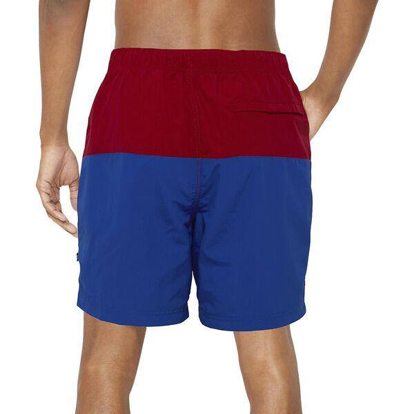 """16"""" Logo Colour Block Quick-Dry Swims, Nautica Red, hi-res"""