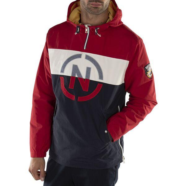 Nautica Jeans Co. Pull Over Hoodie, Nautica Red, hi-res