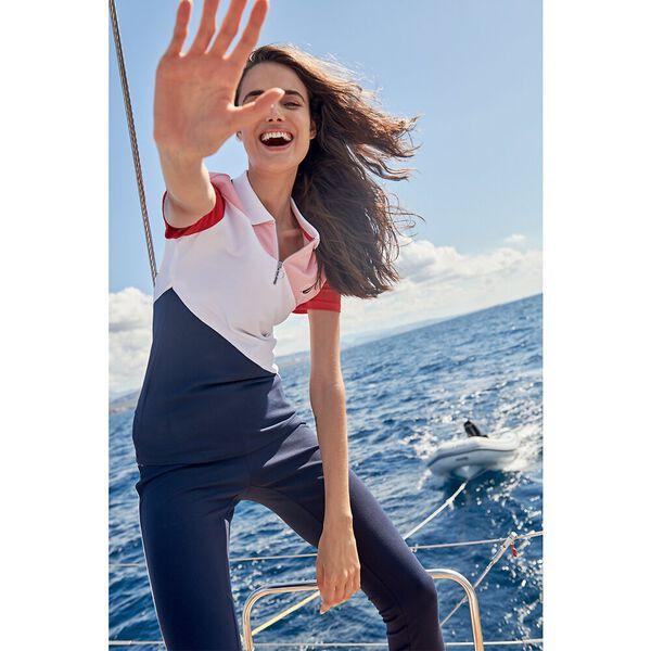 Zip It Up Your Way Polo, Navy Seas, hi-res