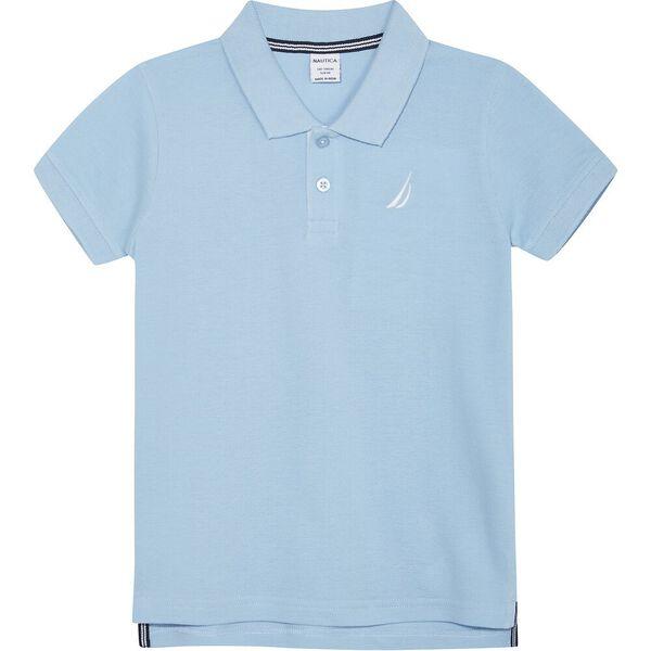 Boys 3 -7 Mini Anchor Short Sleeve Polo