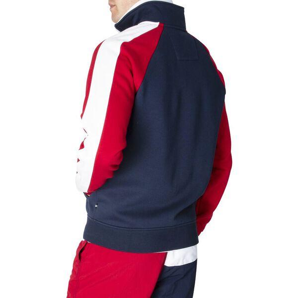 Varisty Colourblocked Track Jacket, Navy, hi-res