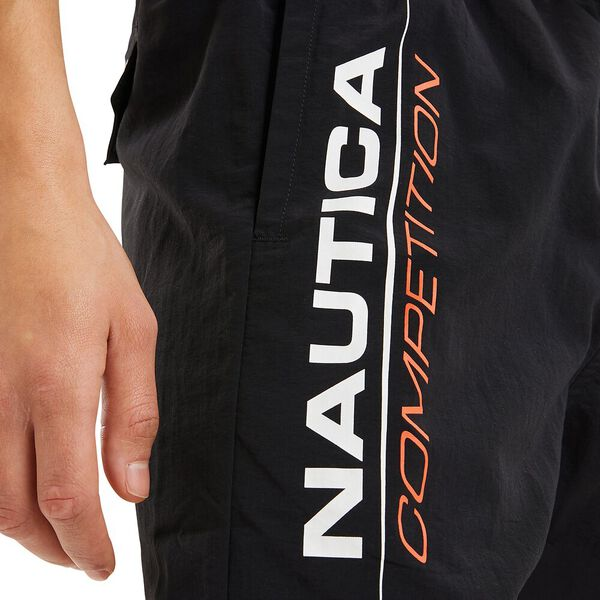 Nautica Competition Patorani Swim Shorts, Black, hi-res