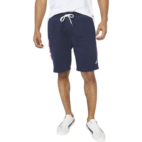 Nautica Heritage Sportswear Track Short, Navy, hi-res