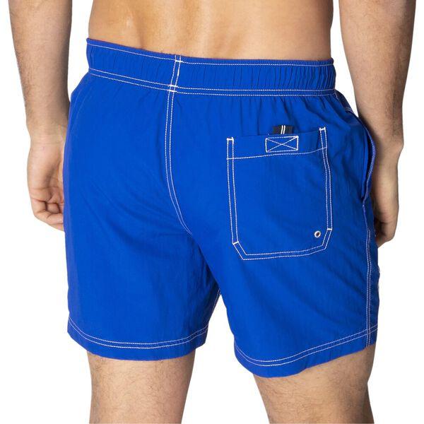 "16"" Logo Solid Quick-Dry Swims, Cobalt Blue, hi-res"