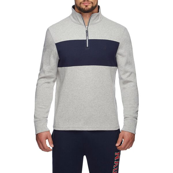 CLRBLK QUARTER-ZIP ACTIVE SWEATER