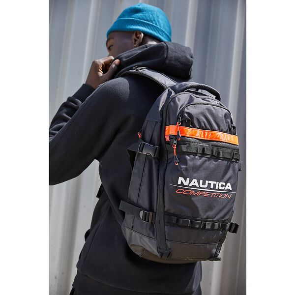 Nautica Competition Snatched Backpack, True Black, hi-res