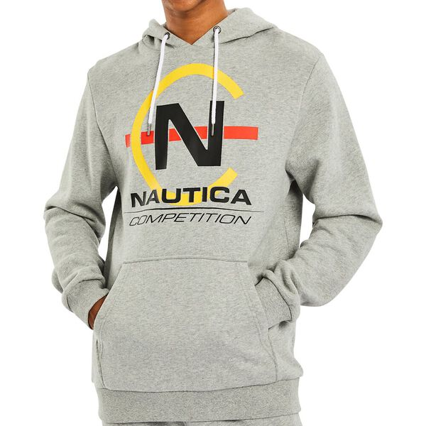 Nautica Competition Teir Hoody, Grey Heather, hi-res