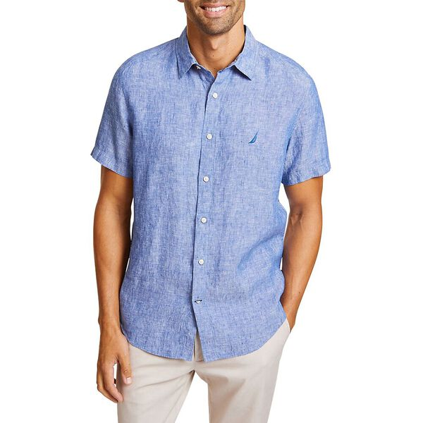 THE SHORT SLEEVE LINEN SHIRT