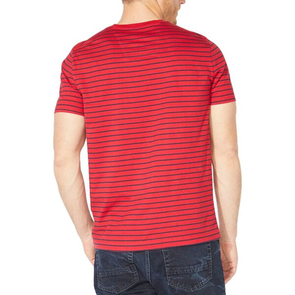 Striped Jersey Tee, Nautica Red, hi-res