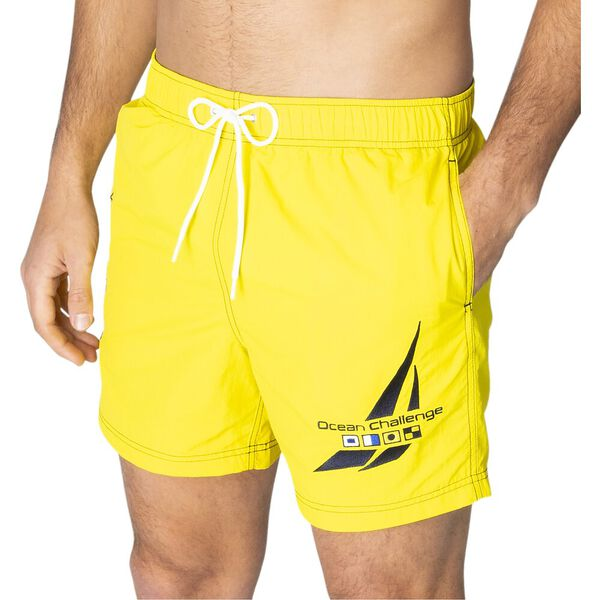 """16"""" Logo Solid Quick-Dry Swims"""
