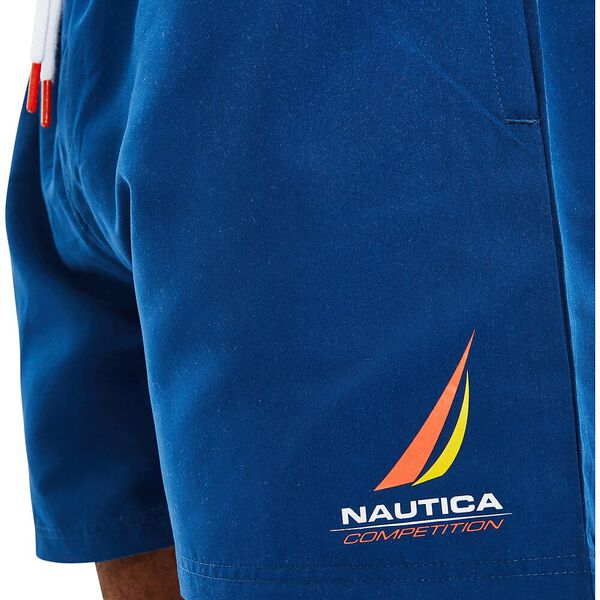 Nautica Competition Deck Swims, Navy, hi-res