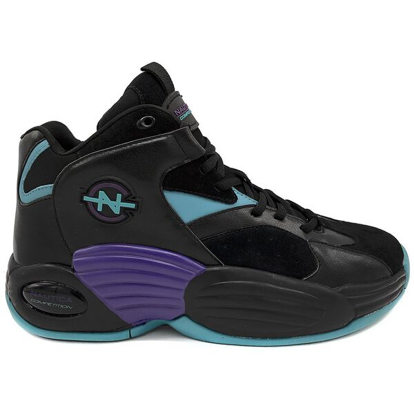 Nautica Competition Footaction Rebell Sneakers, Black/Teal, hi-res