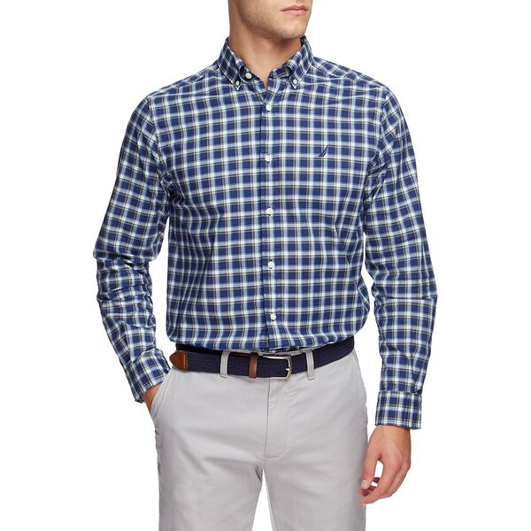 Navtech Coolest Comfort Plaid Long Sleeve Shirt