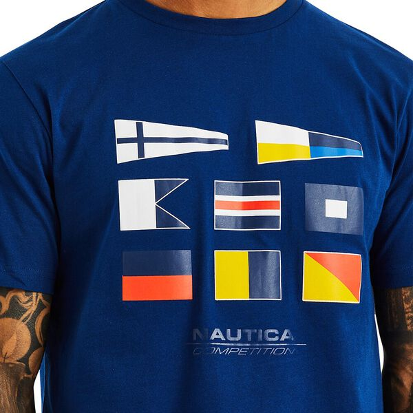 NAUTICA COMPETITION HENRY TEE, NAVY, hi-res