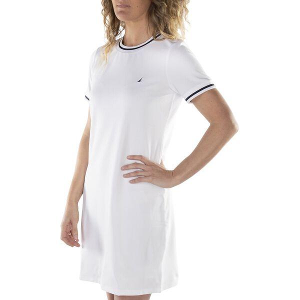 STRIPE EDGED SPORTS DRESS